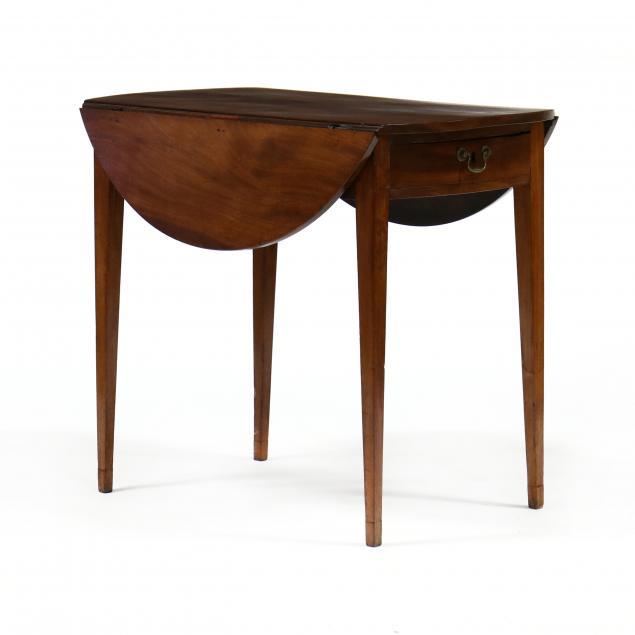federal-mahogany-pembroke-table