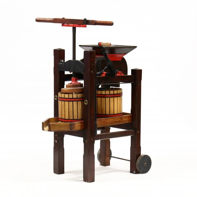 antique-apple-cider-press