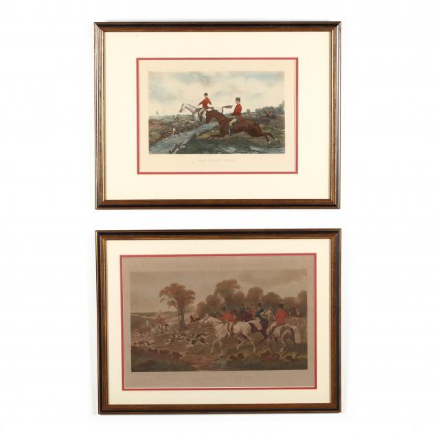 two-english-fox-hunting-prints