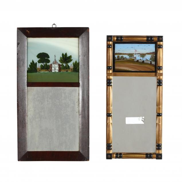 two-antique-federal-style-eglomise-mirrors