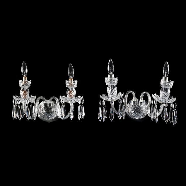 waterford-pair-of-crystal-sconces