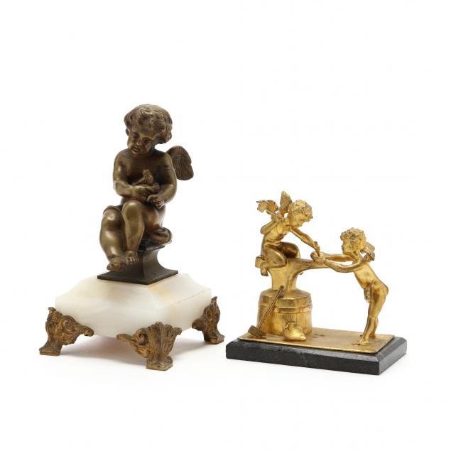 two-vintage-cabinet-sculptures-of-cupid
