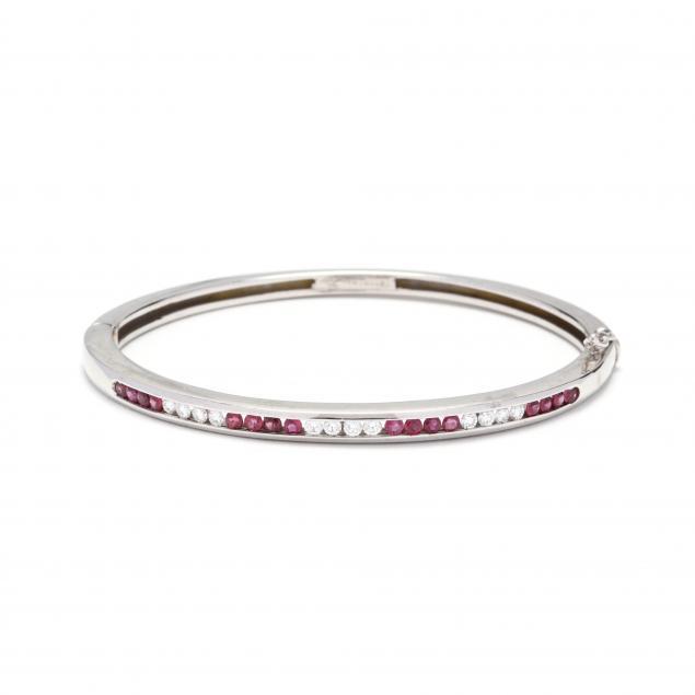 18kt-white-gold-ruby-and-diamond-bangle-bracelet-tiffany-co