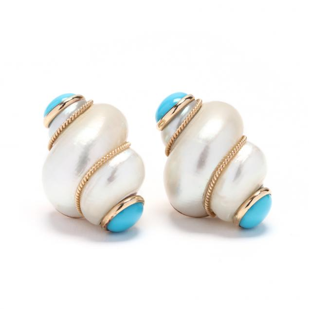 14kt-gold-shell-and-turquoise-earrings-maz