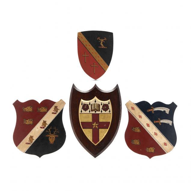 set-of-four-vintage-heraldic-crests