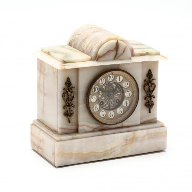 alabaster-mantel-clock