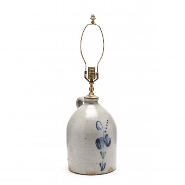 an-antique-jug-converted-to-a-lamp
