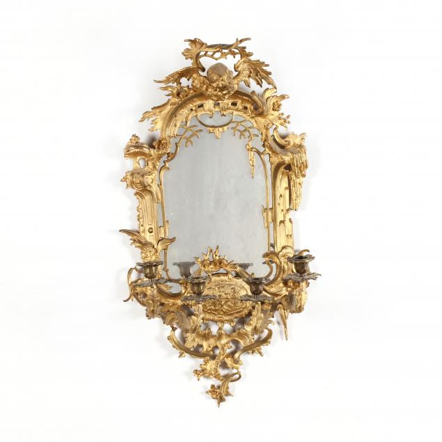 rococo-revival-gilt-metal-mirrored-sconce