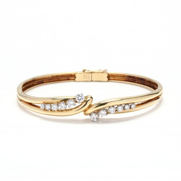 18kt-gold-and-platinum-diamond-bangle-bracelet