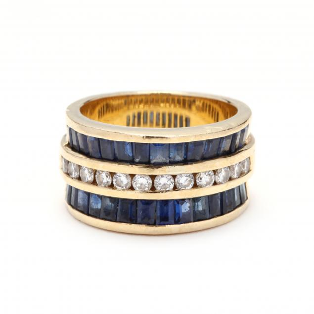 18kt-gold-diamond-and-sapphire-ring-charles-krypell