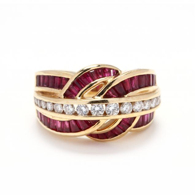 18kt-gold-diamond-and-ruby-ring-charles-krypell