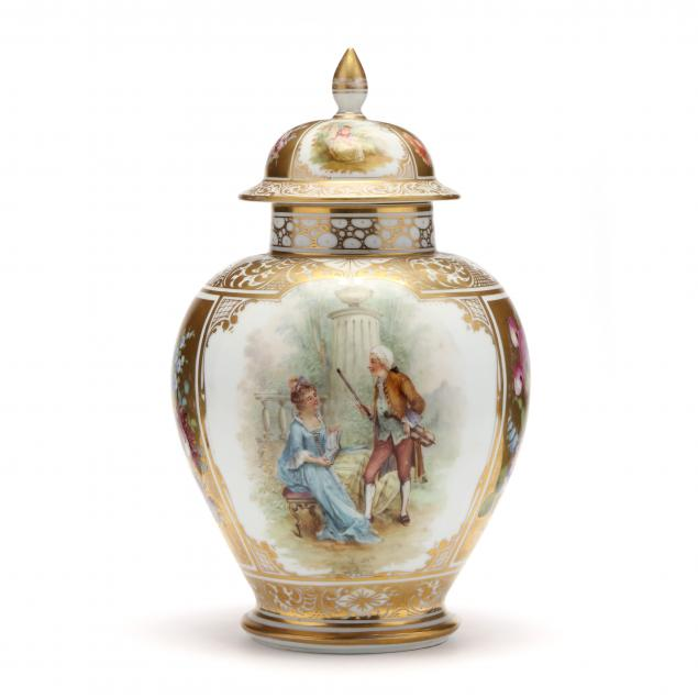 dresden-painted-porcelain-lidded-urn
