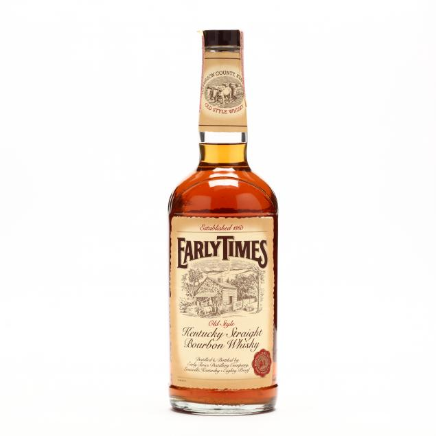 early-times-bourbon-whisky