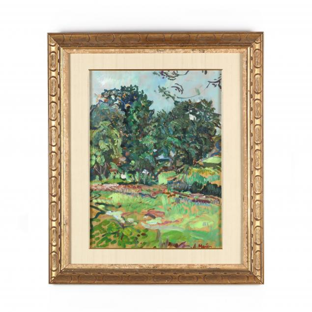 an-impressionist-landscape-by-a-martin-french-20th-century