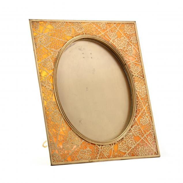 tiffany-studios-grapevine-picture-frame