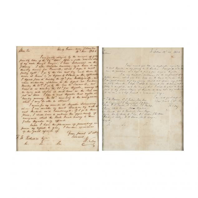 two-autograph-letters-signed-by-henry-clay-during-his-1844-presidential-bid