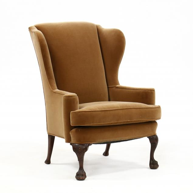 george-ii-style-carved-mahogany-easy-chair
