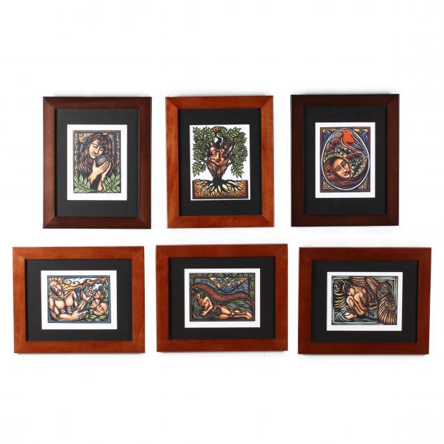 caren-loebel-fried-hi-six-framed-prints