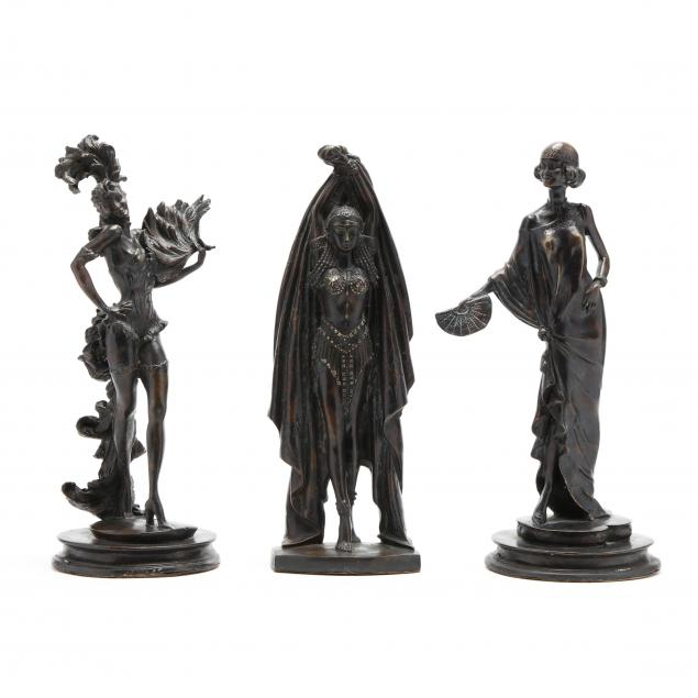 three-contemporary-bronze-figures-of-dancers