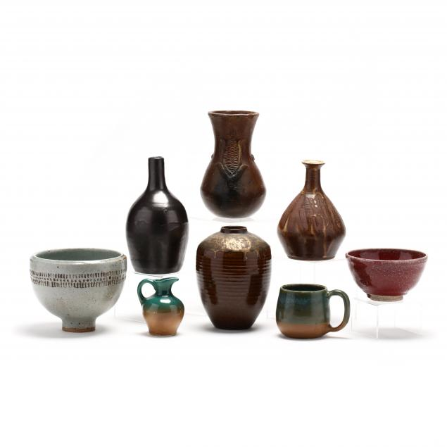 a-group-of-assorted-pottery
