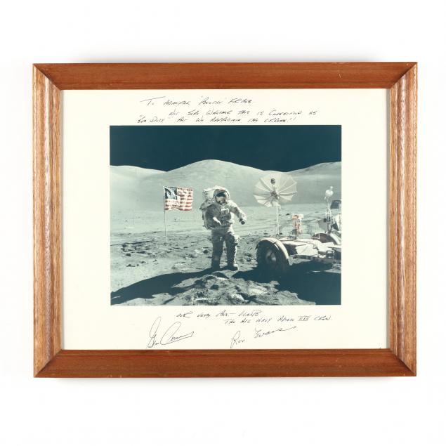 apollo-xvii-inscribed-lunar-surface-photo