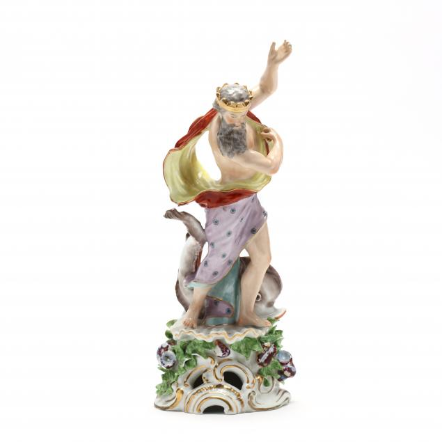 a-porcelain-figure-of-neptune-with-dolphin