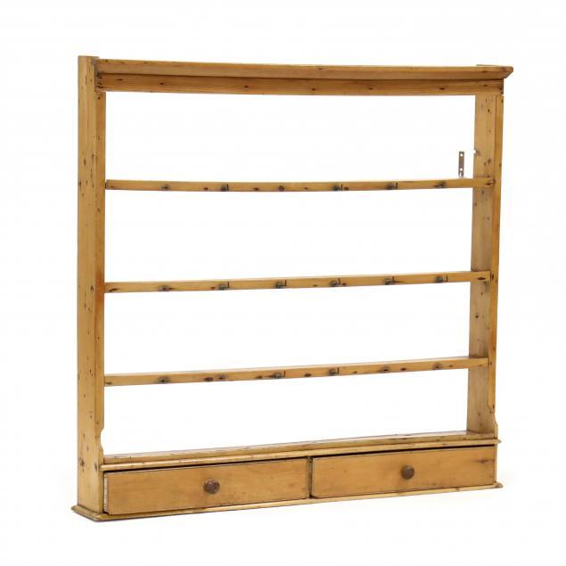 antique-continental-pine-hanging-shelf