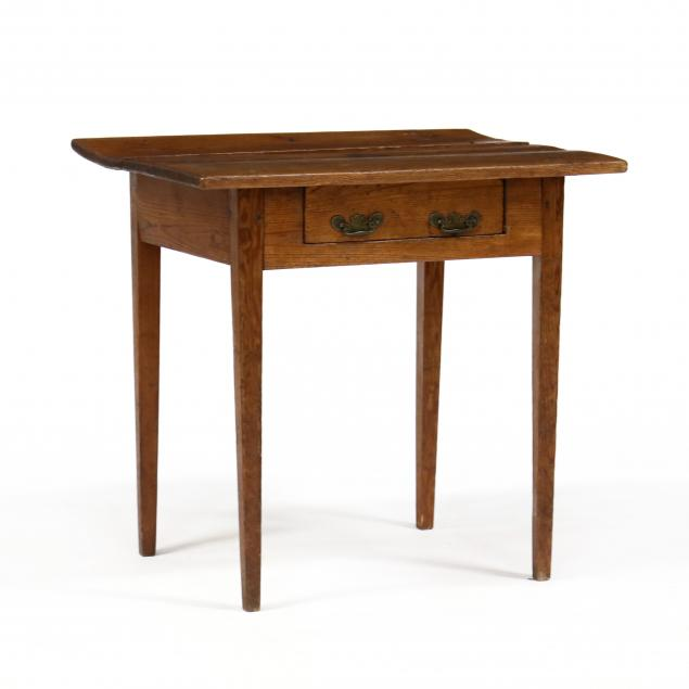 southern-yellow-pine-one-drawer-work-table