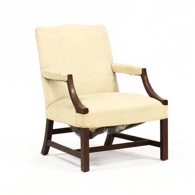 georgian-style-mahogany-lolling-chair