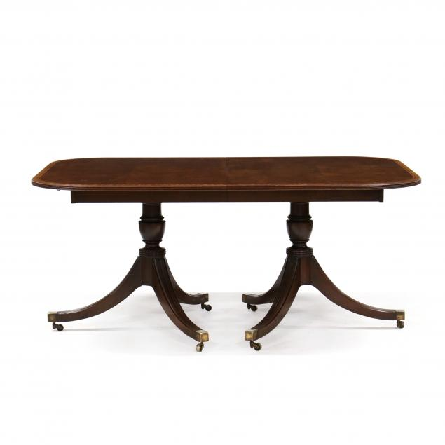 georgian-style-banded-mahogany-dining-table