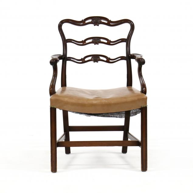 english-antique-chippendale-style-carved-armchair