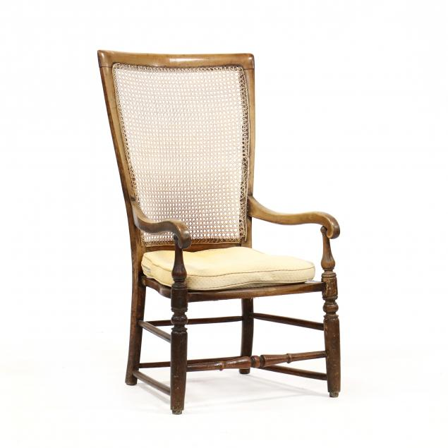 anglo-indian-plantation-high-back-armchair