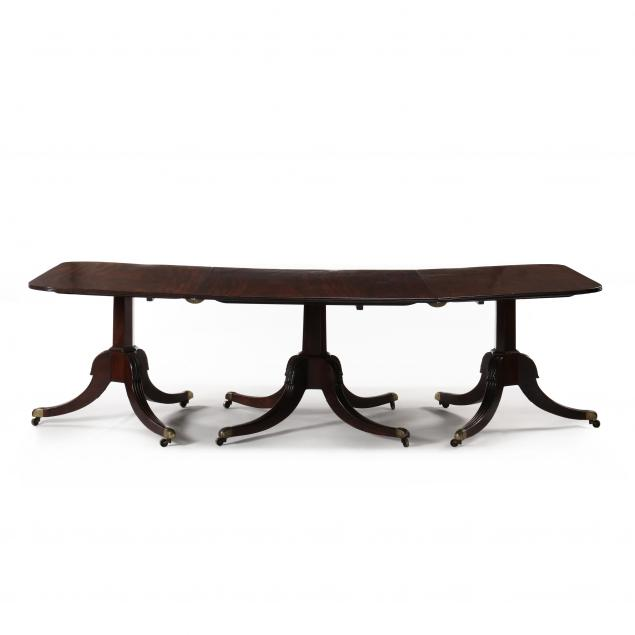regency-triple-pedestal-mahogany-banquet-table