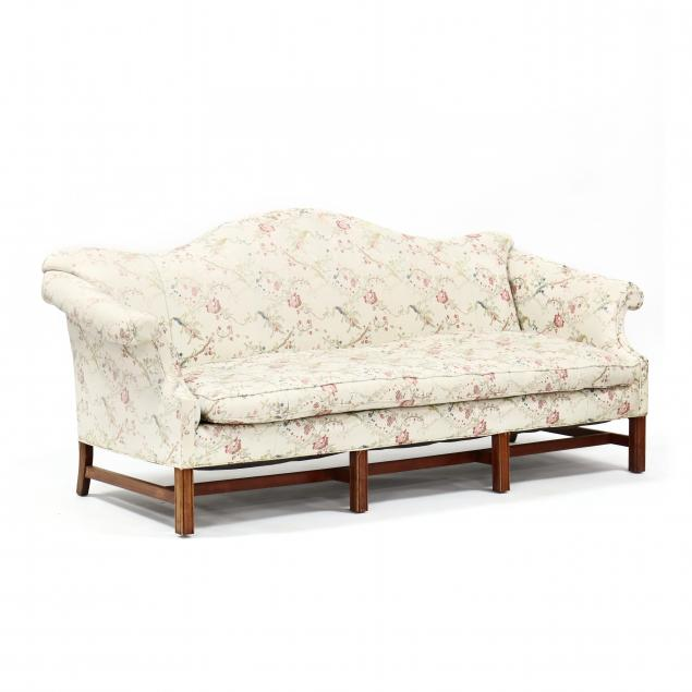 chippendale-style-custom-upholstered-sofa