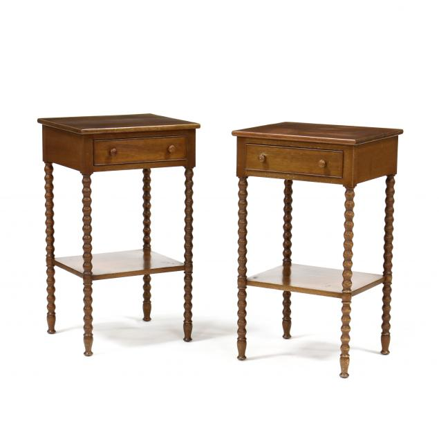 biggs-pair-of-mahogany-one-drawer-stands