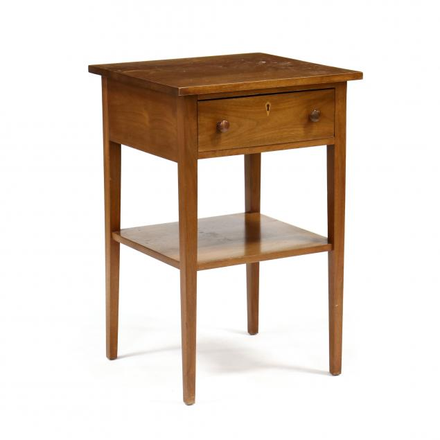 bench-made-walnut-one-drawer-stand