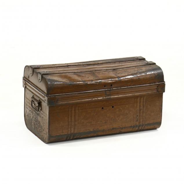 antique-english-faux-grain-painted-trunk