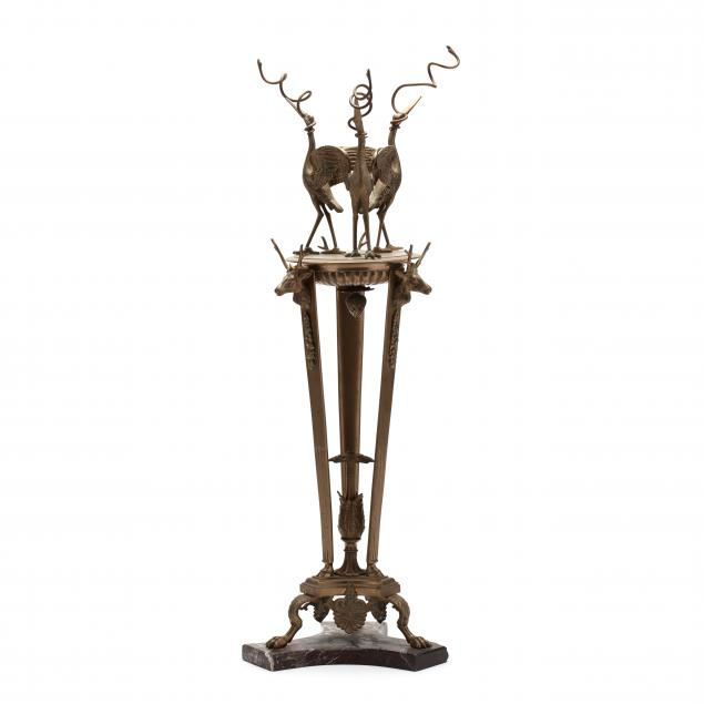 fanciful-tall-brass-stand-for-candle-or-oil-lighting
