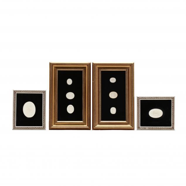 eight-plaster-casts-of-ancient-intaglio-gems