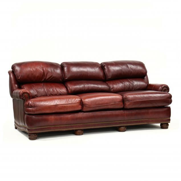 hancock-moore-leather-upholstered-sofa