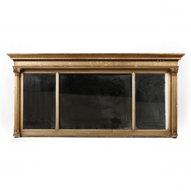 neoclassical-style-carved-and-gilt-overmantel-mirror