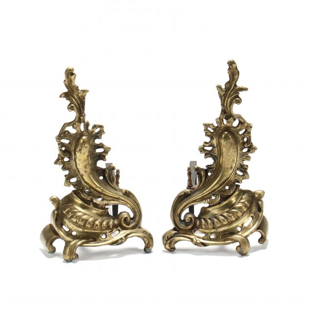 pair-of-vintage-french-brass-chenets