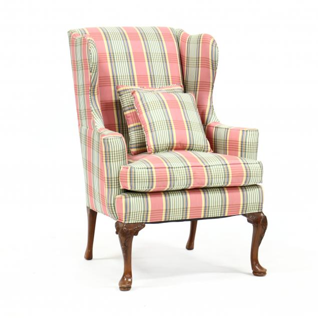 queen-anne-style-upholstered-easy-chair