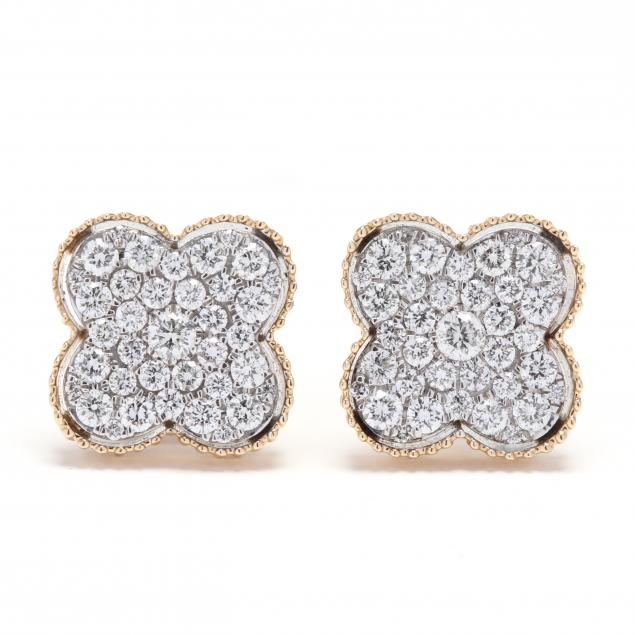 14kt-bi-color-gold-and-diamond-earrings