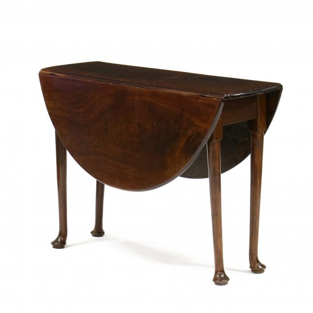 queen-anne-mahogany-drop-leaf-breakfast-table