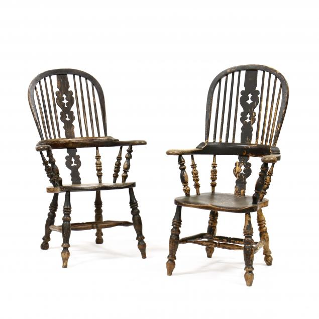 pair-of-antique-english-windsor-armchairs