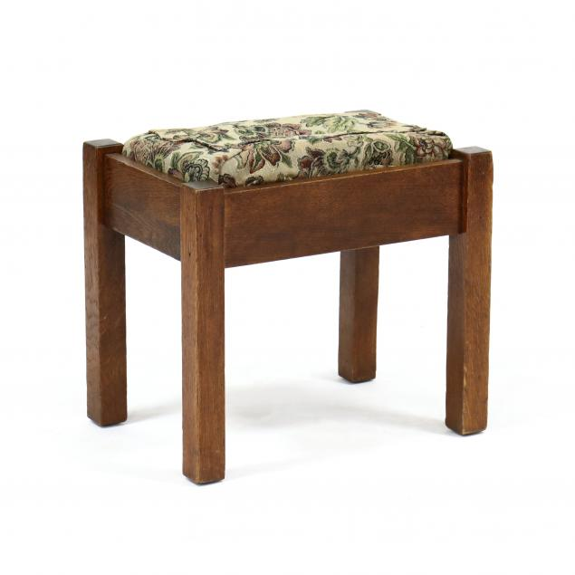 stickley-brothers-oak-mission-footstool