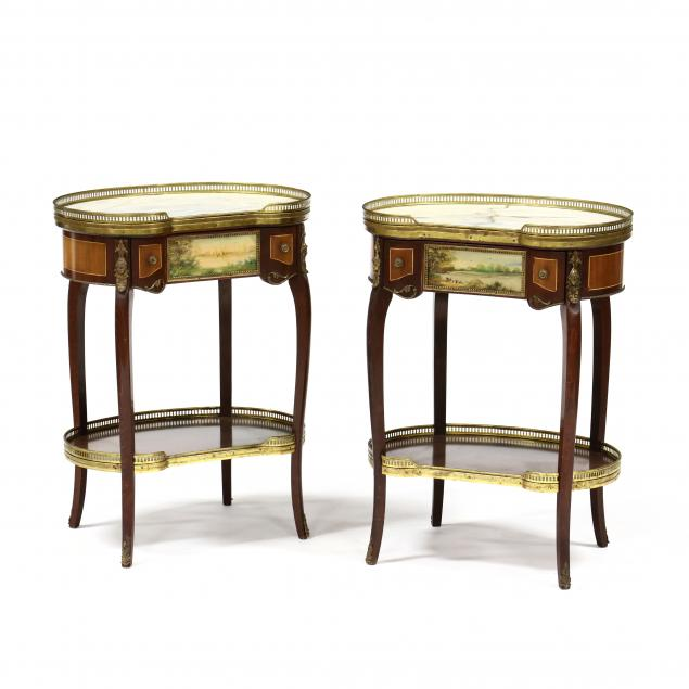 pair-of-french-marble-top-kidney-shaped-and-painted-side-tables