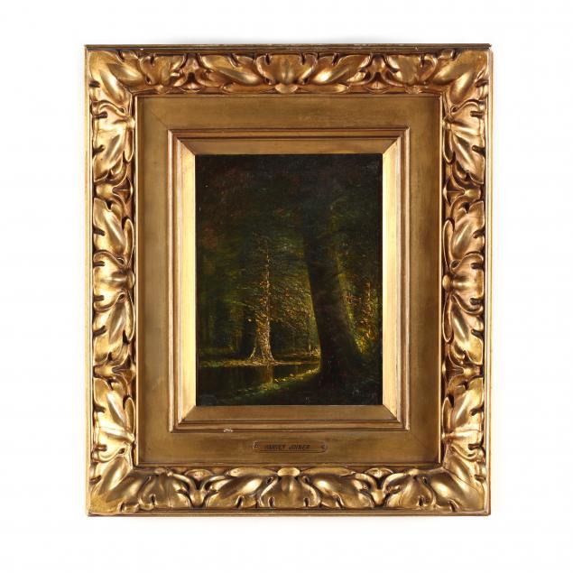 harvey-joiner-ky-in-1852-1932-i-a-burst-of-sunlight-mid-summer-woods-i