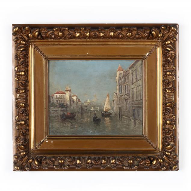 virgilio-ripari-italian-1843-46-1901-1902-venice-scene